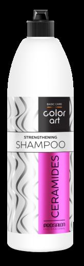 basic care color art szampon wzmacniający z ceramidami 1000ml
